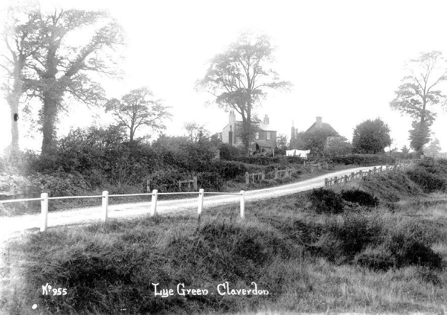 Lye Green, Claverdon.  1900s |  IMAGE LOCATION: (Warwickshire County Record Office)