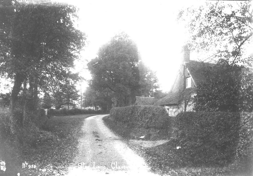Star Lane, Claverdon.  1900s |  IMAGE LOCATION: (Warwickshire County Record Office)