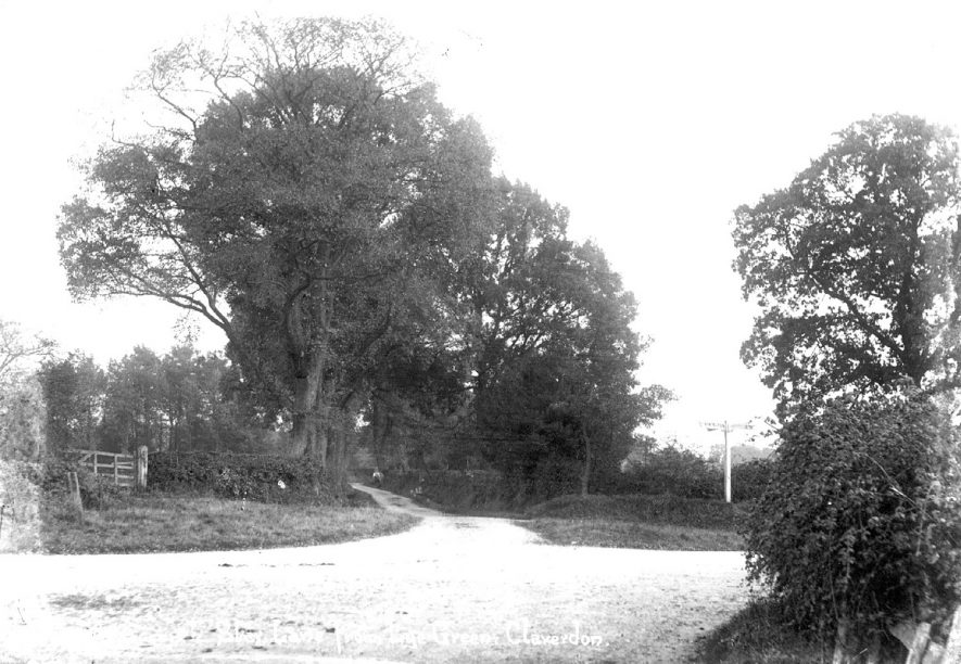 Star Lane from Lye Green, Claverdon.  1900s |  IMAGE LOCATION: (Warwickshire County Record Office)
