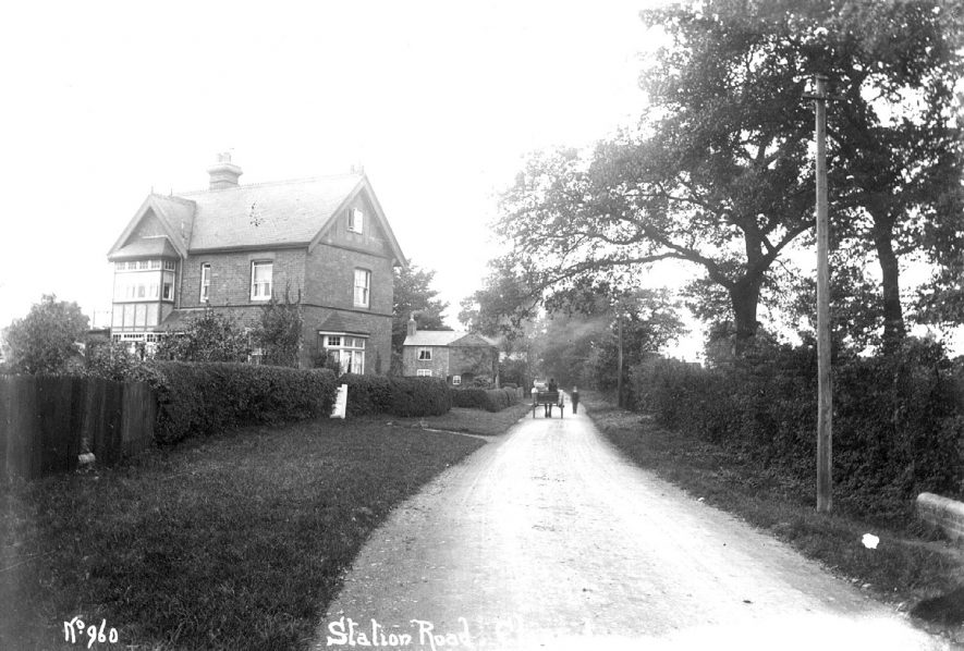 Station Road, Claverdon.  1910s |  IMAGE LOCATION: (Warwickshire County Record Office)