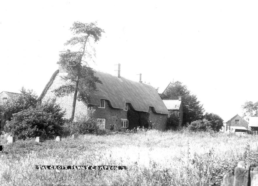 The Croft, Fenny Compton.  1910s |  IMAGE LOCATION: (Warwickshire County Record Office)