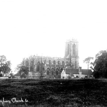 Hampton Lucy.  Church