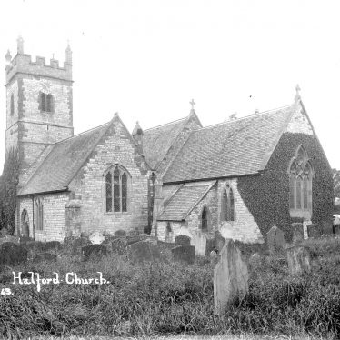 Halford.  St Mary's church