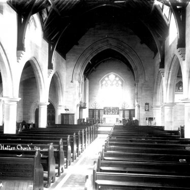Hatton.  Church interior