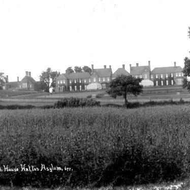 Hatton.   Asylum Lodge.  Leigh House
