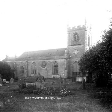 Leek Wootton.  All Saint's church