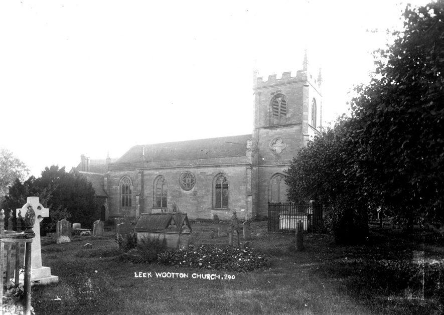 All Saint's church, Leek Wootton.  1900s |  IMAGE LOCATION: (Warwickshire County Record Office)