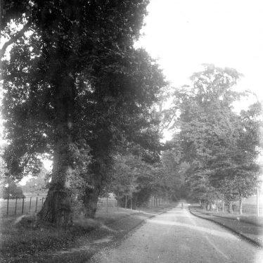 Leek Wootton.  Woodcote Drive