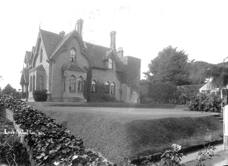 Large country house in Leek Wootton. 1900s |  IMAGE LOCATION: (Warwickshire County Record Office)