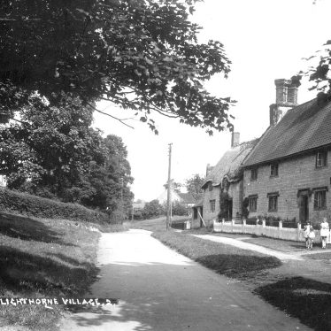 Lighthorne.  Village street