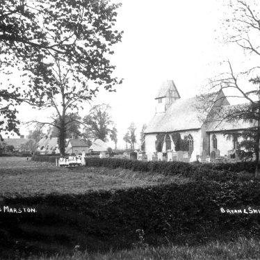 Long Marston.  Church