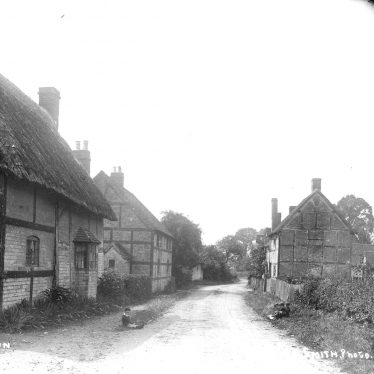 Luddington.  Cottages
