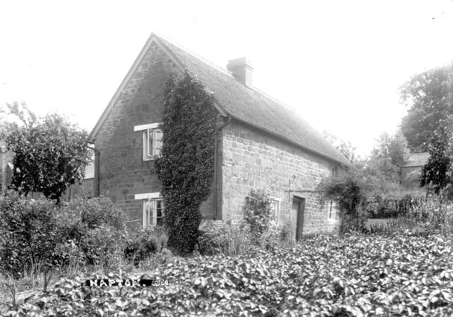 A cottage at Napton on the Hill.  1900s [This is