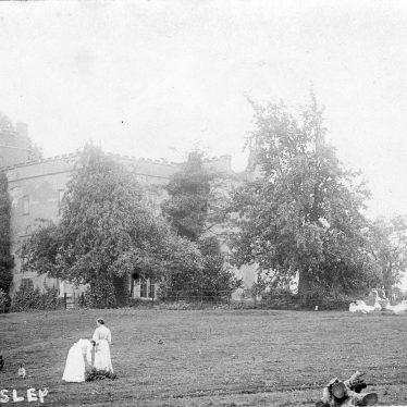 Oversley.  Castle