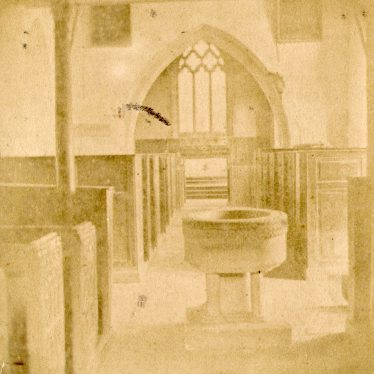 Oxhill.  Church interior