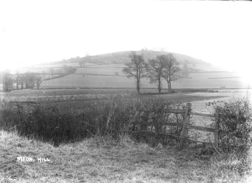 Meon Hill near Upper Quinton.  1910s |  IMAGE LOCATION: (Warwickshire County Record Office)
