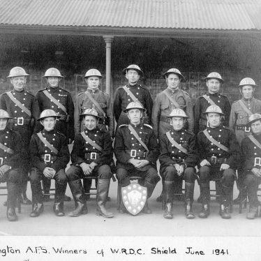 Cubbington.  Auxiliary Fire Service