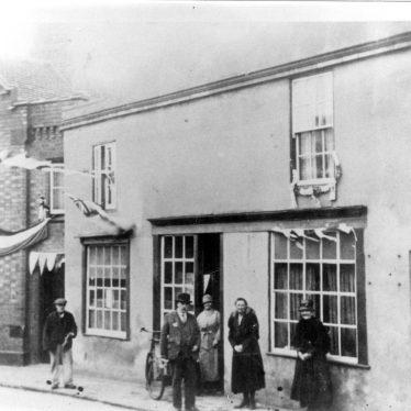 Cubbington.  High Street, during Jubilee Celebrations