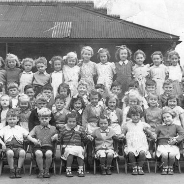 Cubbington.  School photograph