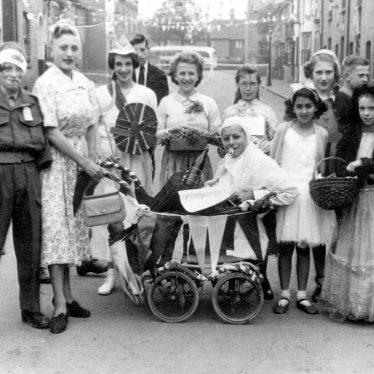Leamington Spa.  Coronation celebrations