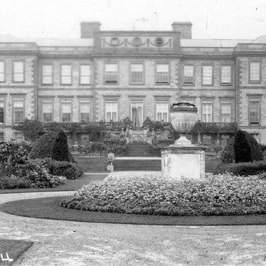 Ragley Hall.  Exterior view