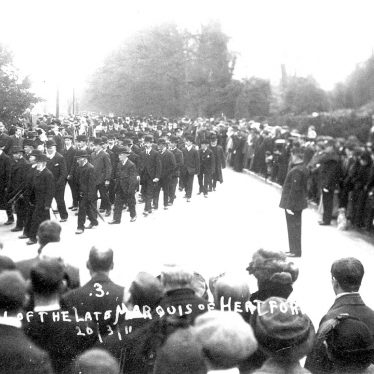 Arrow.  Funeral of the Marquis of Hertford
