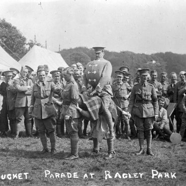 Ragley Park.  Bucket Parade