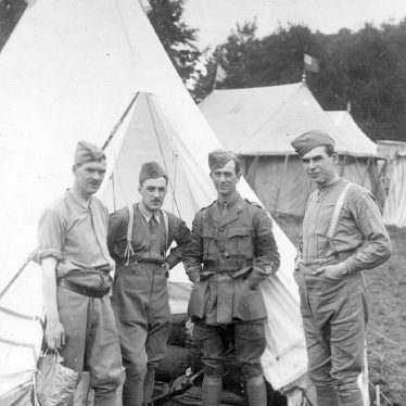 Ragley Park.  Soldiers