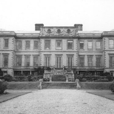 Ragley Hall.  West Front