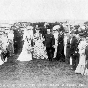 Ragley Park.  Opening of Bazaar