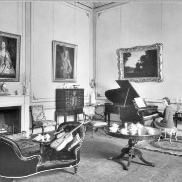 Ragley Hall.  Interior view