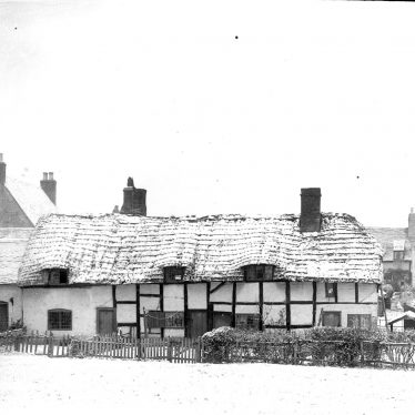 Shottery.  Old cottages