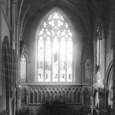 Stretton on Dunsmore.  Church interior