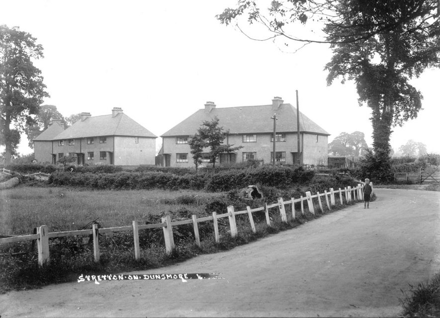 Council houses in Stretton on Dunsmore.  1930s |  IMAGE LOCATION: (Warwickshire County Record Office)