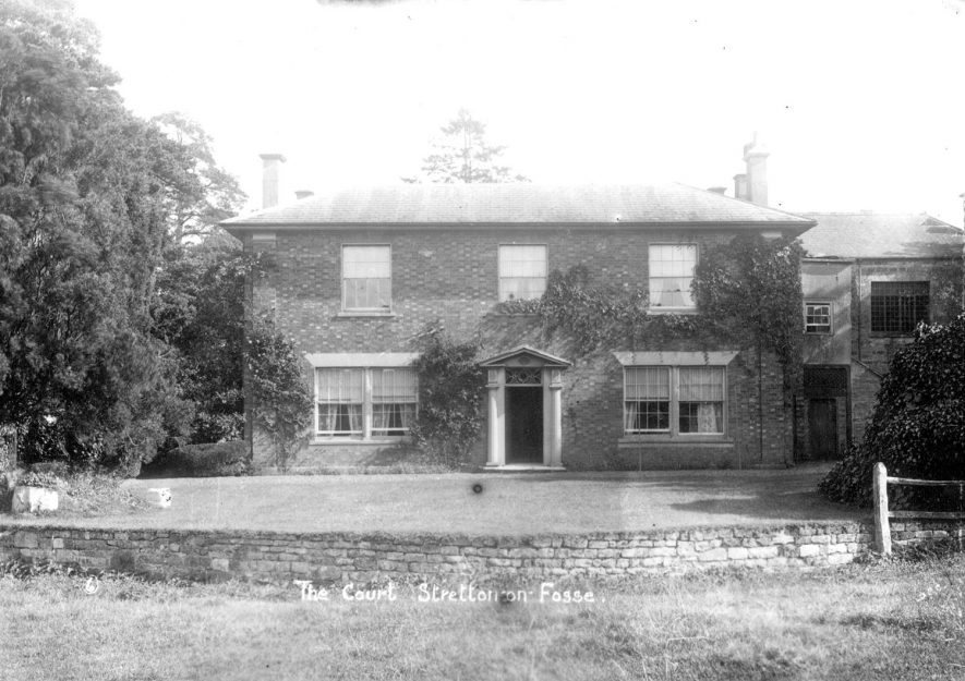 The Court, Stretton on Fosse.  1900s |  IMAGE LOCATION: (Warwickshire County Record Office)