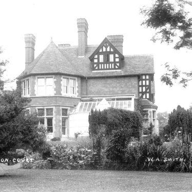 Temple Grafton.  Grafton Court