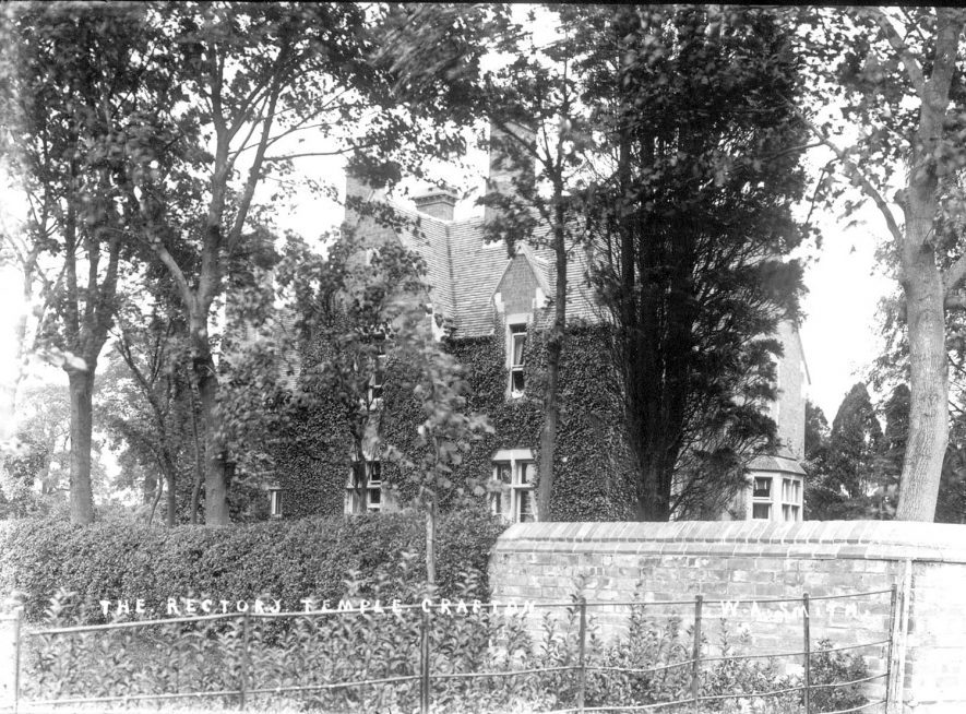The Rectory, Temple Grafton.  1900s |  IMAGE LOCATION: (Warwickshire County Record Office)