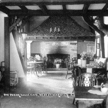 Warwick.  Tudor House Café