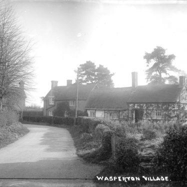 Wasperton.  Village scene