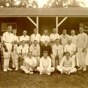 Offchurch.  Cricket Club team