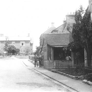 Cubbington.  Lambert's butchers shop