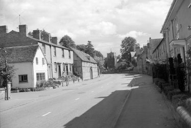 Life in Barford in the 1940s