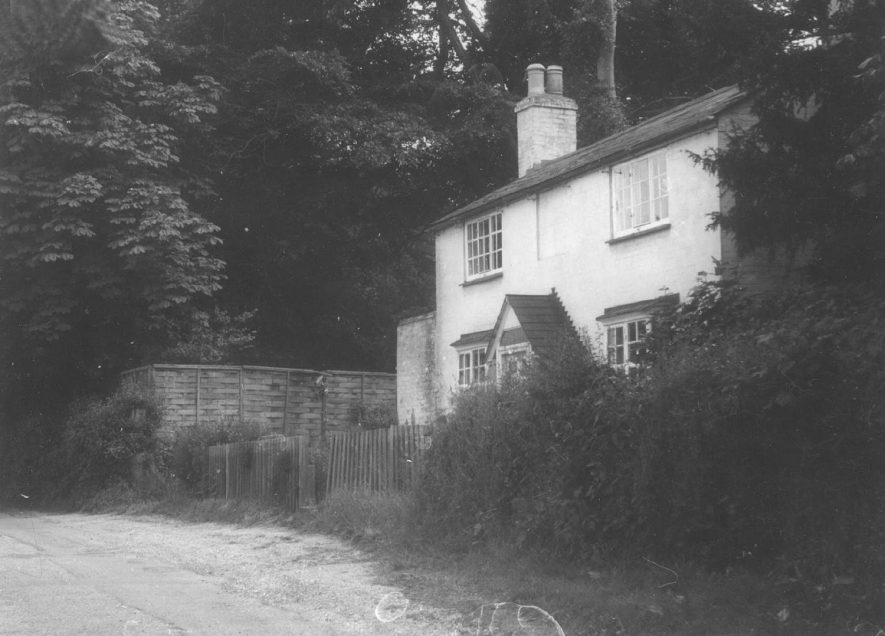 A cottage in Alveston, which was the home of J.B. Priestly's secretary.  1967 |  IMAGE LOCATION: (Warwickshire County Record Office)