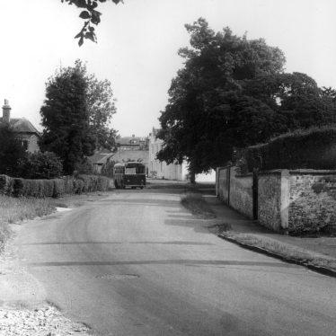 Alveston.  Bus en route for Tiddington