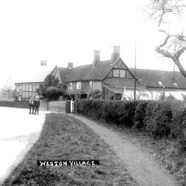 Weston under Wetherley.  Cottages