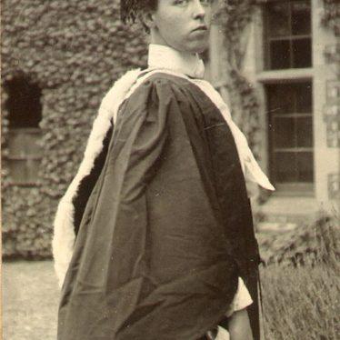 Rugby.  Miss Ethel Dewar B.A.