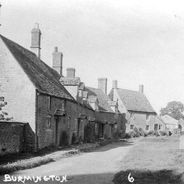 Burmington.  Village street