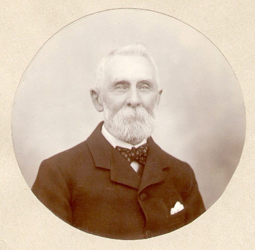 Richard Over, born 1826 - died 1914.  Worked in Count Wratislaw's office from 1839 - 1905.  Secretary of Rugby Town Hall Company;  elected to Rugby Urban District Council 1895; defeated 1899 due to problem over Benn bequest of Shoulder of Mutton Inn.  Churchwarden of St Andrew's Church 1876-81 and 1886-97.  Father of G.E. Over, bookseller of Rugby.  1900s |  IMAGE LOCATION: (Rugby Library) PEOPLE IN PHOTO: Over, R, Over as a surname