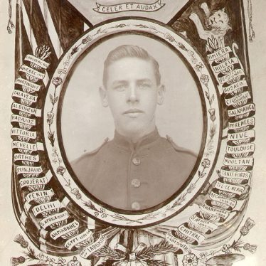 Rugby.  Rifleman C.G. Read