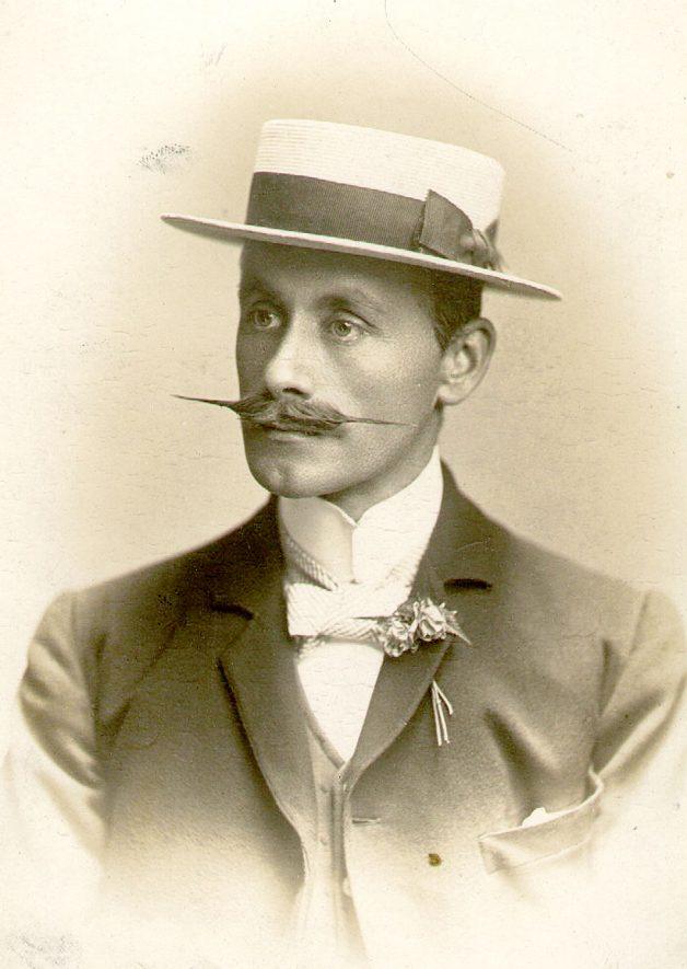 Mr R T Simpson, author of